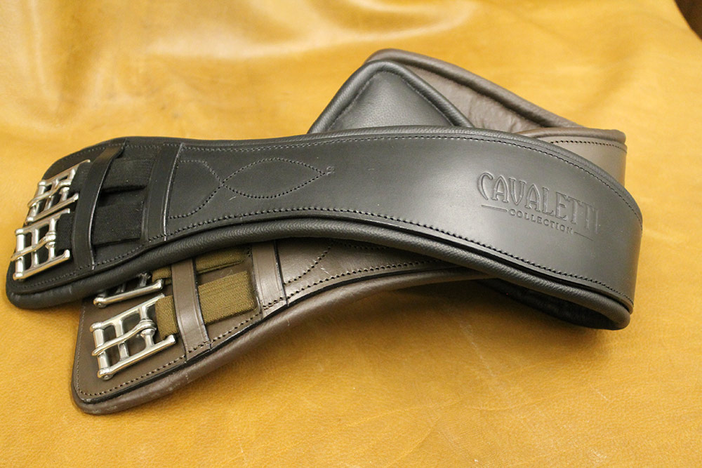 Cavaletti Collection Vogue Dressage Girth black and brown